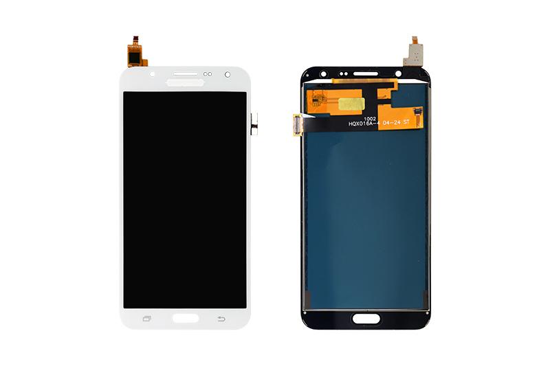 FRONTAL TELA TOUCH LCD DISPLAY SAMSUNG J700 GALAXY J7 BRANCO COM BRILHO