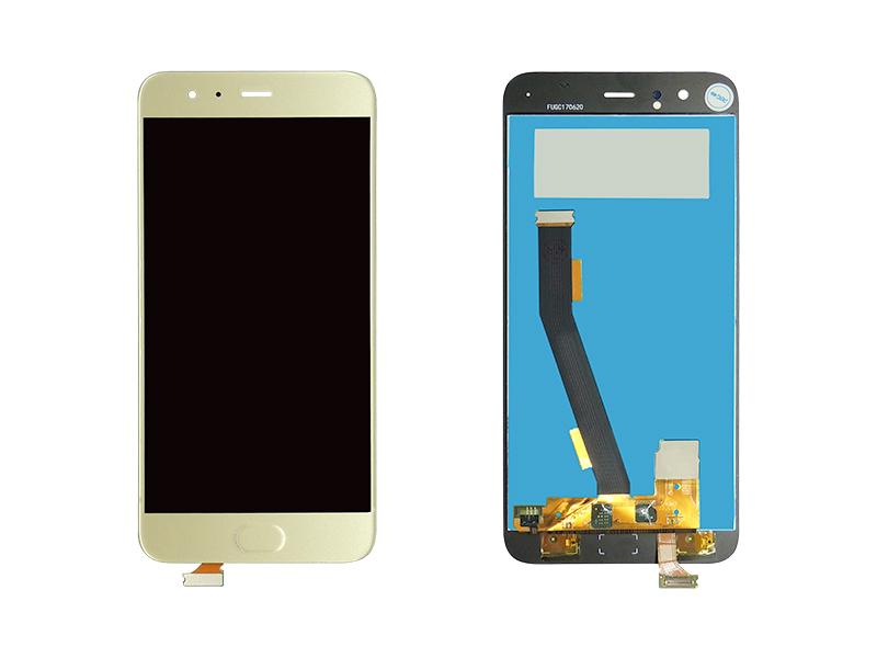 FRONTAL TELA TOUCH LCD DISPLAY XIAOMI MI 6 DOURADO