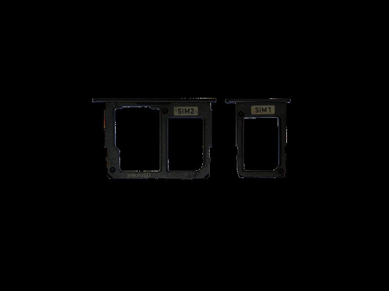 GAVETA CHIP SAMSUNG J5 PRO J530 J7 PRO J730 PRETO.