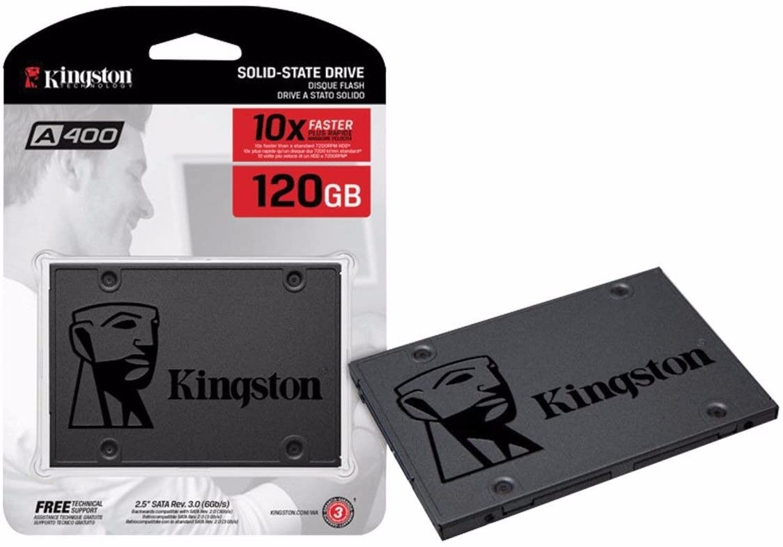 MEMORIA SSD 120 GB A400 KINGSTON
