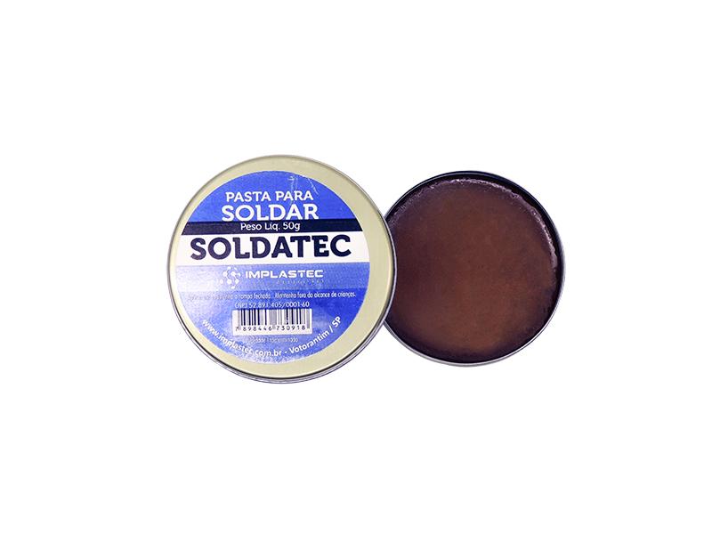 PASTA DE SOLDA 50GR SOLDATEC IMPLASTEC