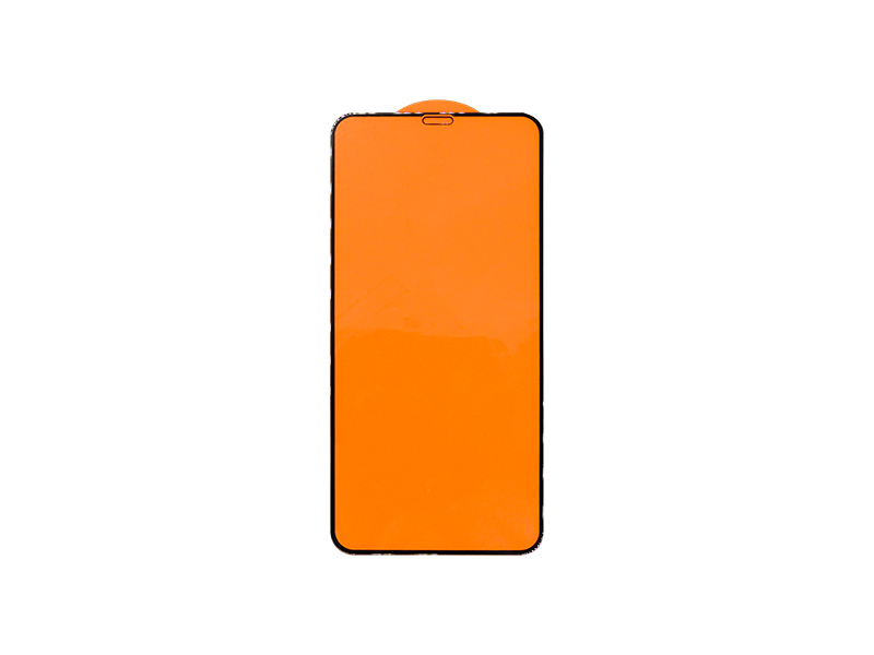 PELICULA DE VIDRO 3D 5D IPHONE 11 PRO MAX XS MAX PRETA