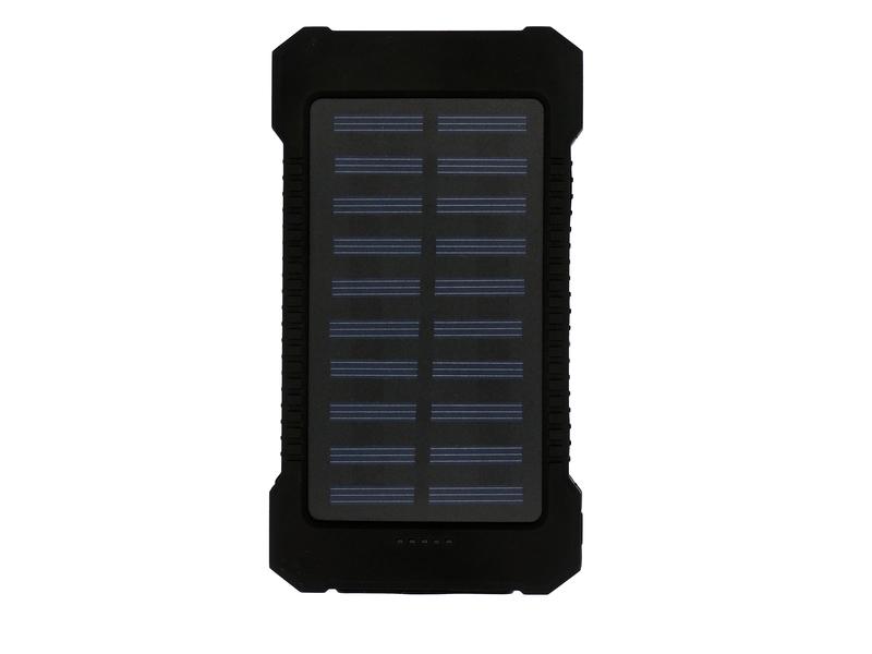 POWER BANK SOLAR 8000MAH REAL EXBOM PB-S80 CARGA EXTRA