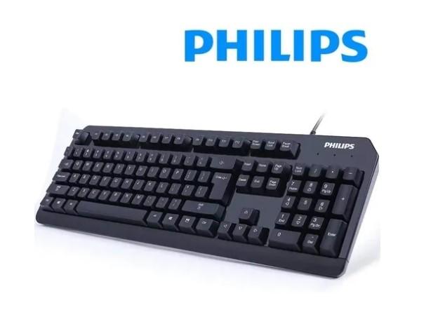 TECLADO USB QWERTY PHILIPS SPK6212B