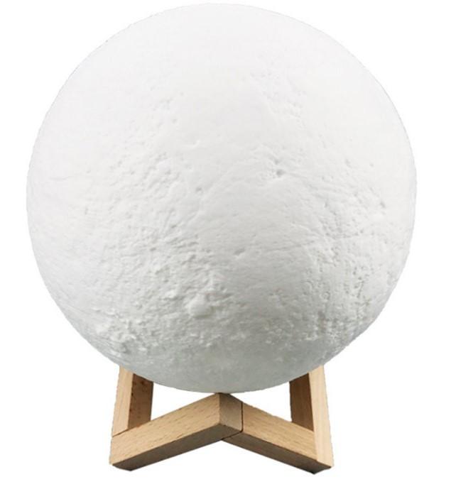 UMIDIFICADOR LUMINARIA 3D MOON LAMP