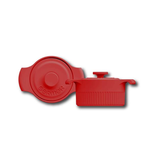 Cocotte Vermelho - 10cm