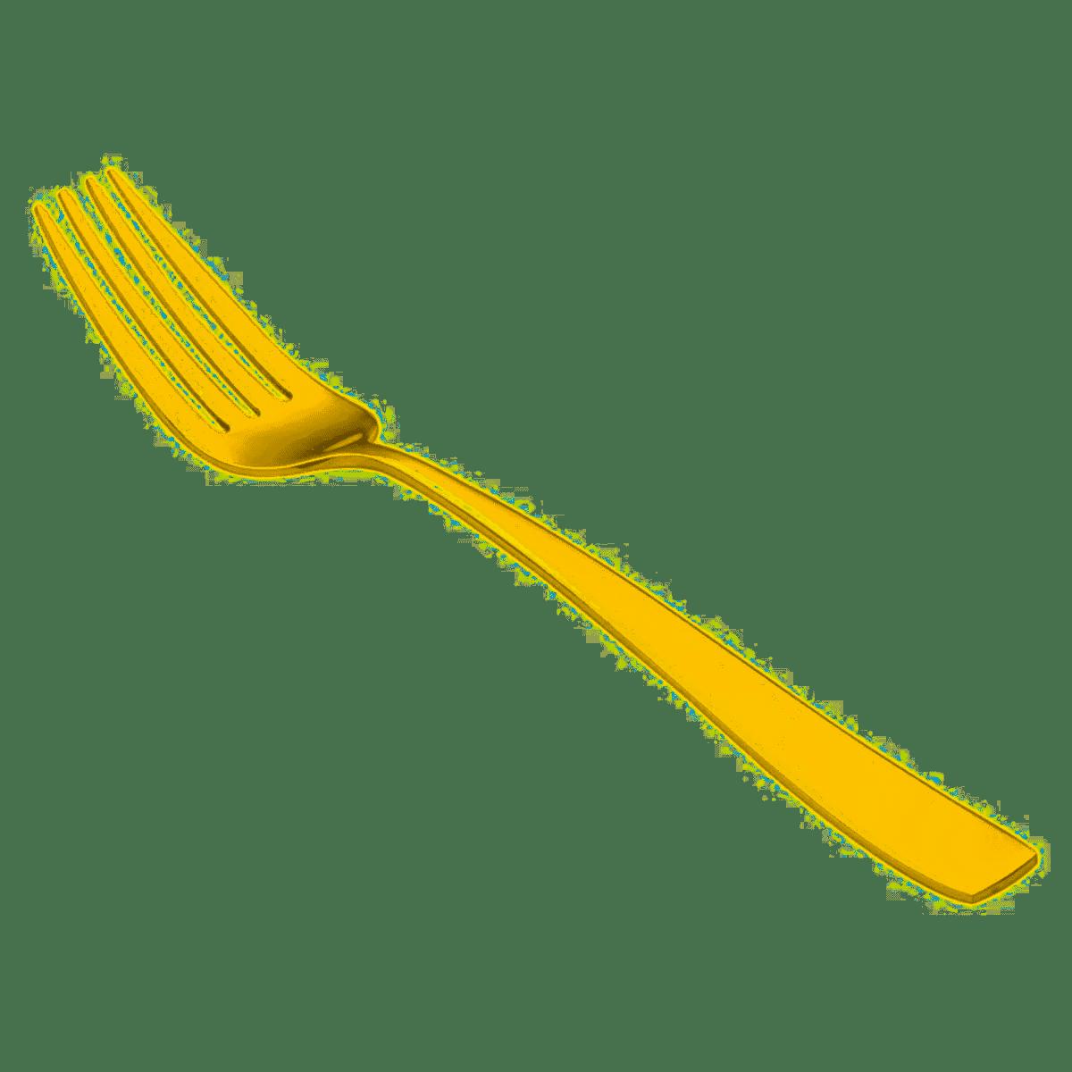 Garfo de Mesa Pisa Dourado