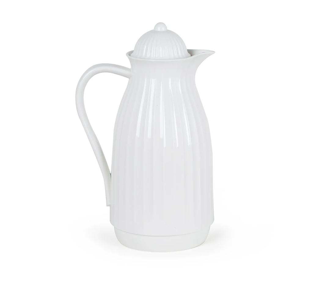 Garrafa Térmica Vintage 1L Branca