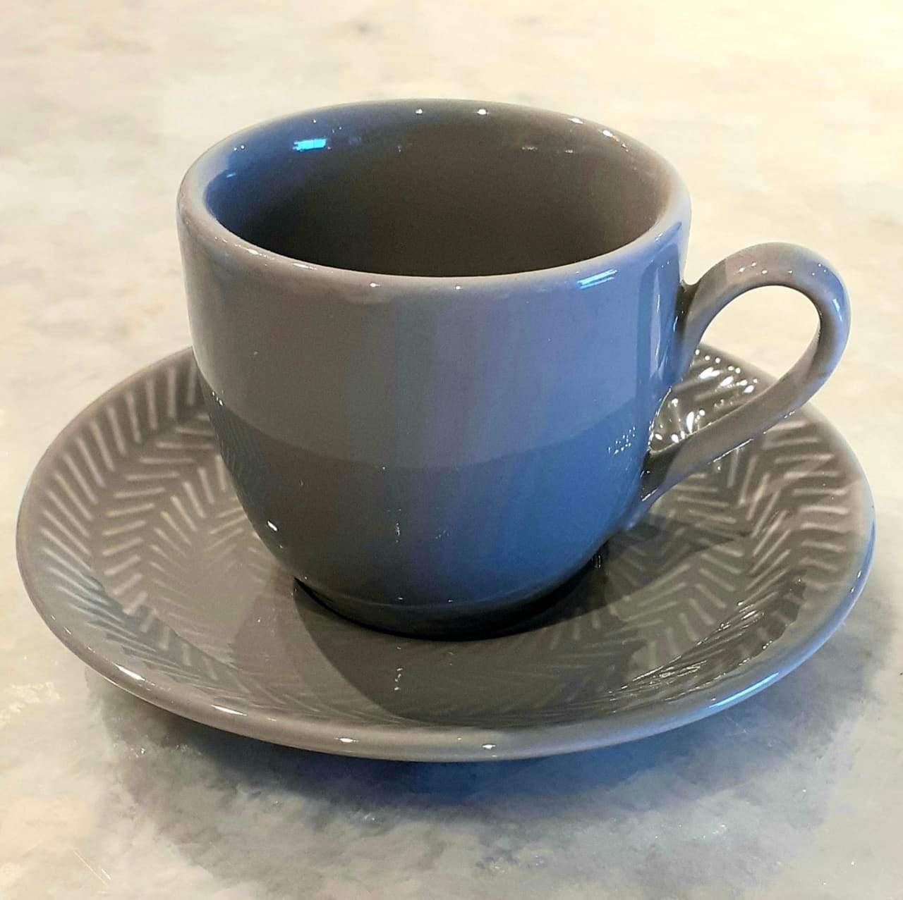 Xícara de Café Ágata Chevron