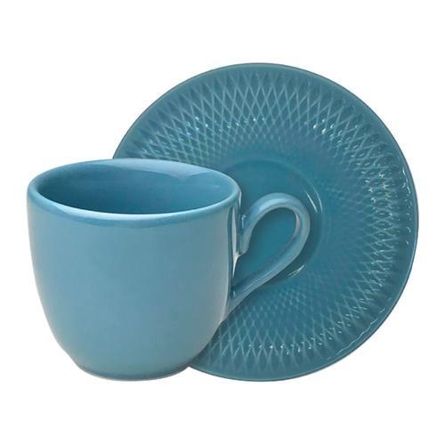 Xícara de Café Quartzo Azul