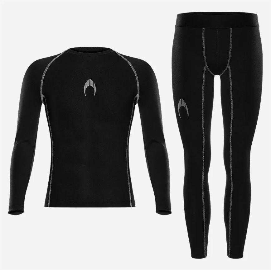 Kit camisa térmica manga longa + calça térmica HO Soccer