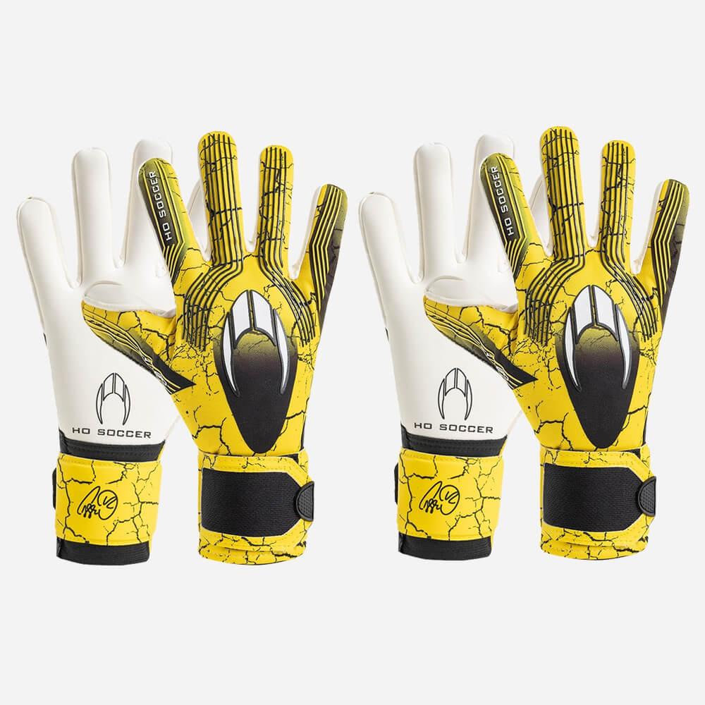 Kit 2 pares de luvas de goleiro HO Soccer Cassio Premier Pro II