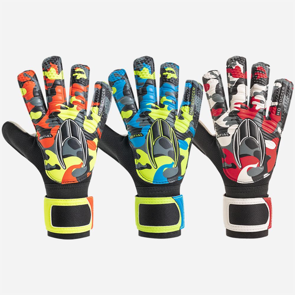 Kit 3 pares de luvas de goleiro HO Soccer Initial Flat