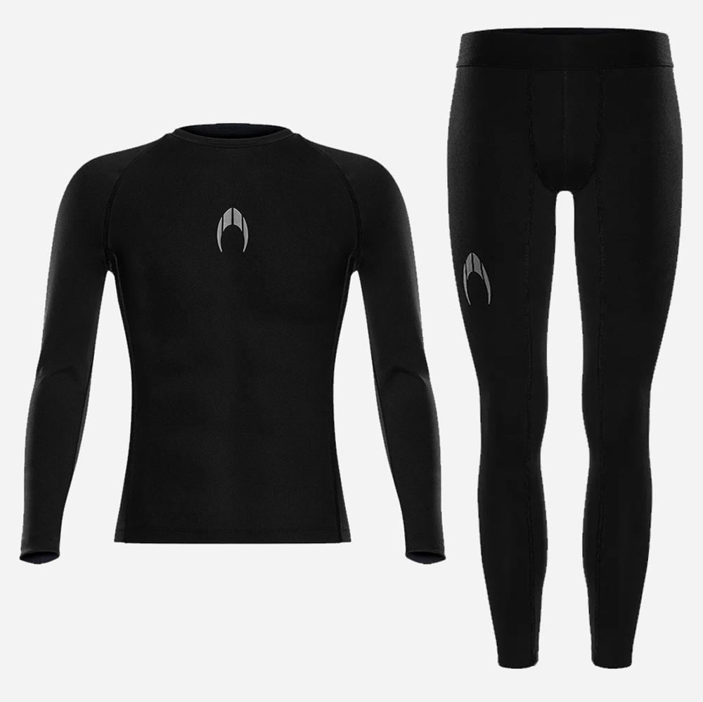 Kit camiseta térmica manga longa + calça térmica HO Soccer