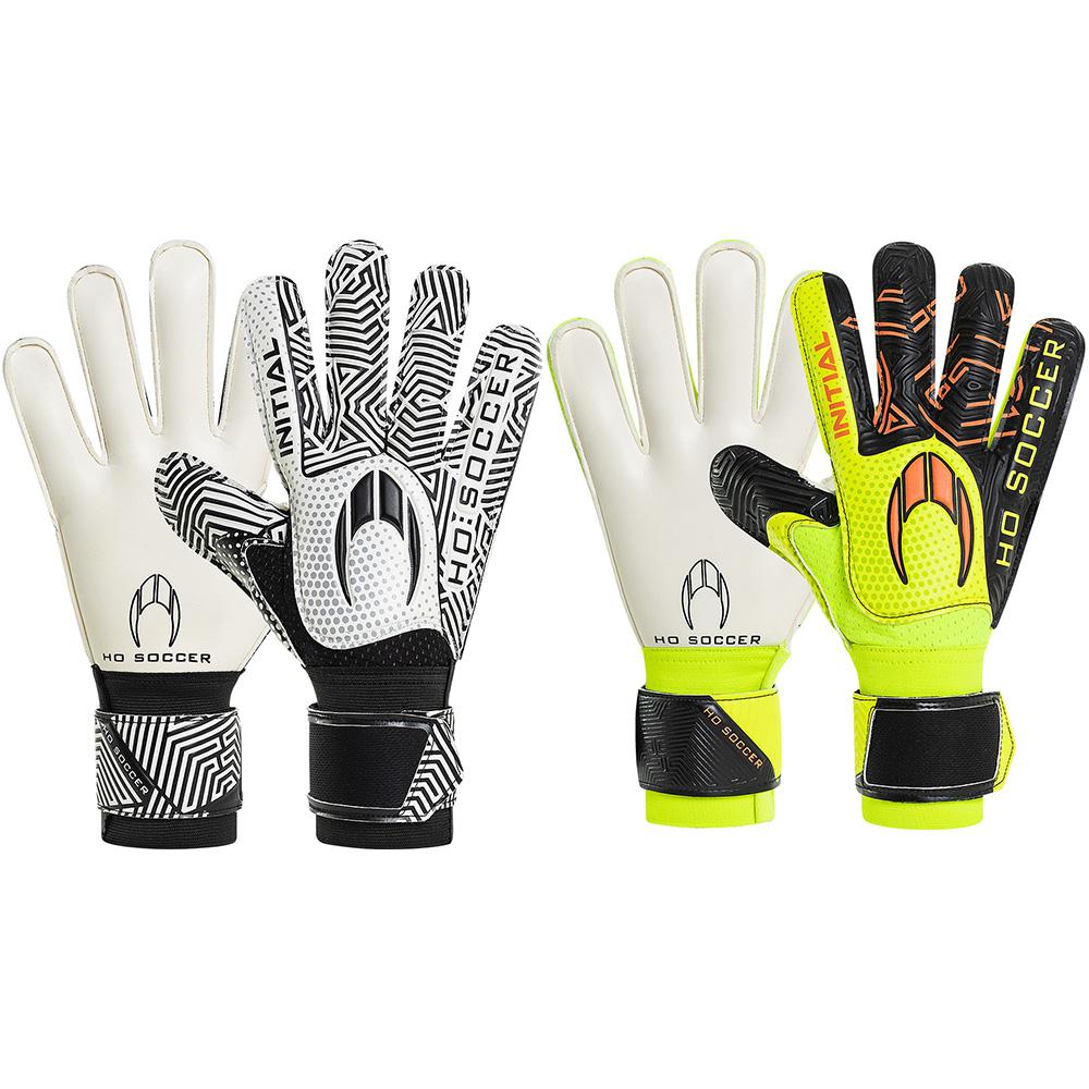 Kit Luva HO Soccer Initial Flat Lime + Initial Flat White/Black