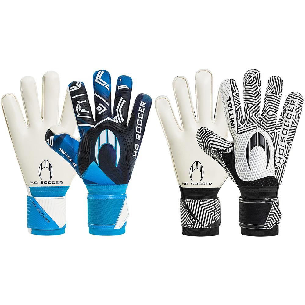 Kit Luva HO Soccer SSG Skudo II + Initial Flat White/Black