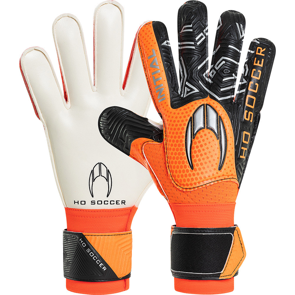 Luva HO Soccer Initial Flat Orange II
