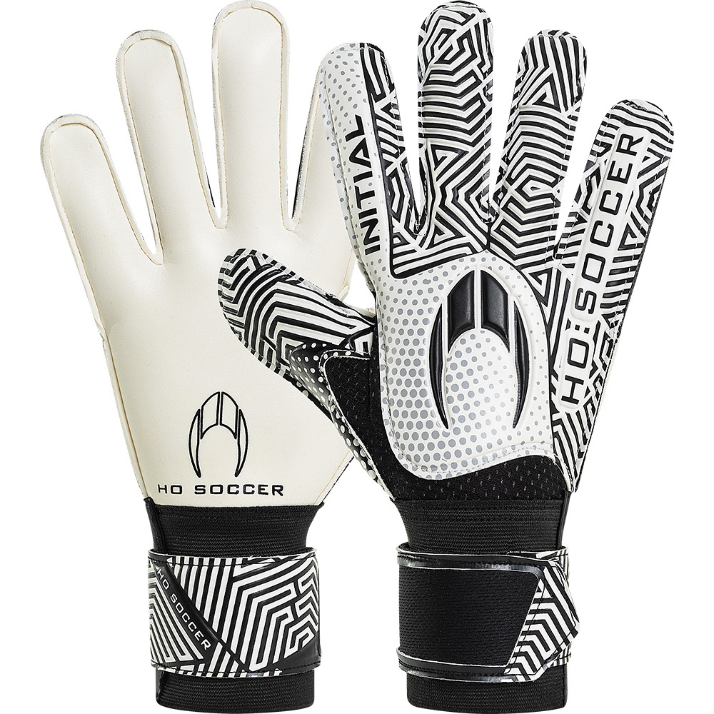 Luva HO Soccer Initial Flat White/Black
