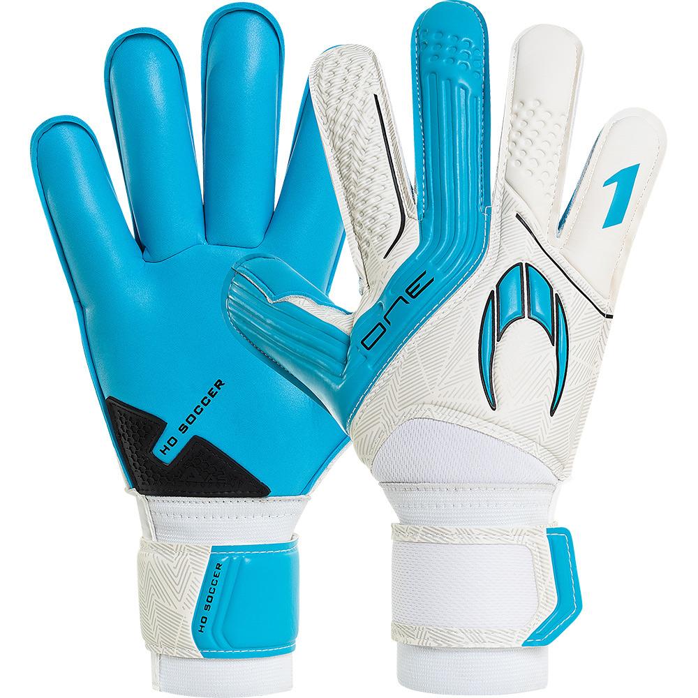 Luva HO Soccer One Roll Blue