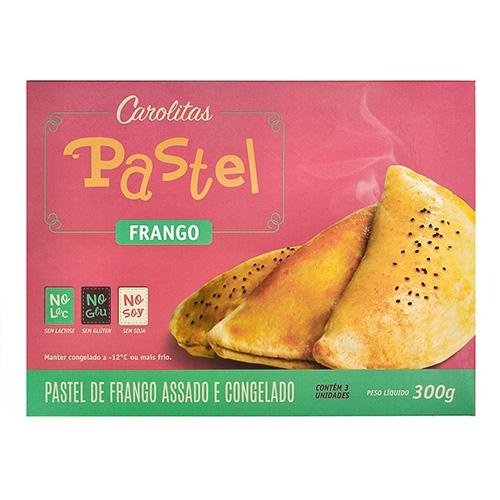 Pastel Funcional de Frango 300g