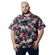 Camisa Plus Size Estampada Power-Útero (P Ao Plus Size)
