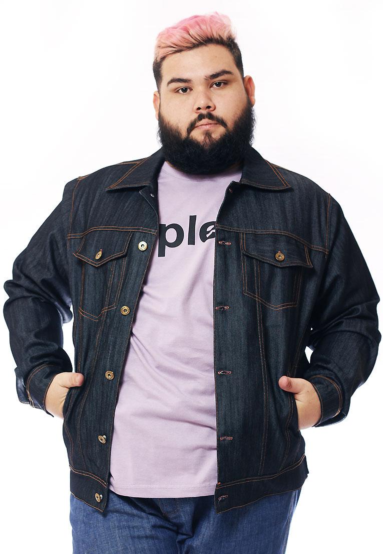 Jaqueta Jeans Plus Size Masculino / Sob-medida