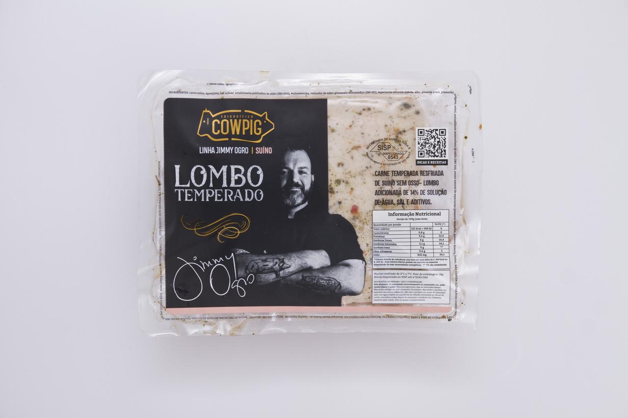LOMBO SUINO TEMPERADO RESF. - PEÇA 700G
