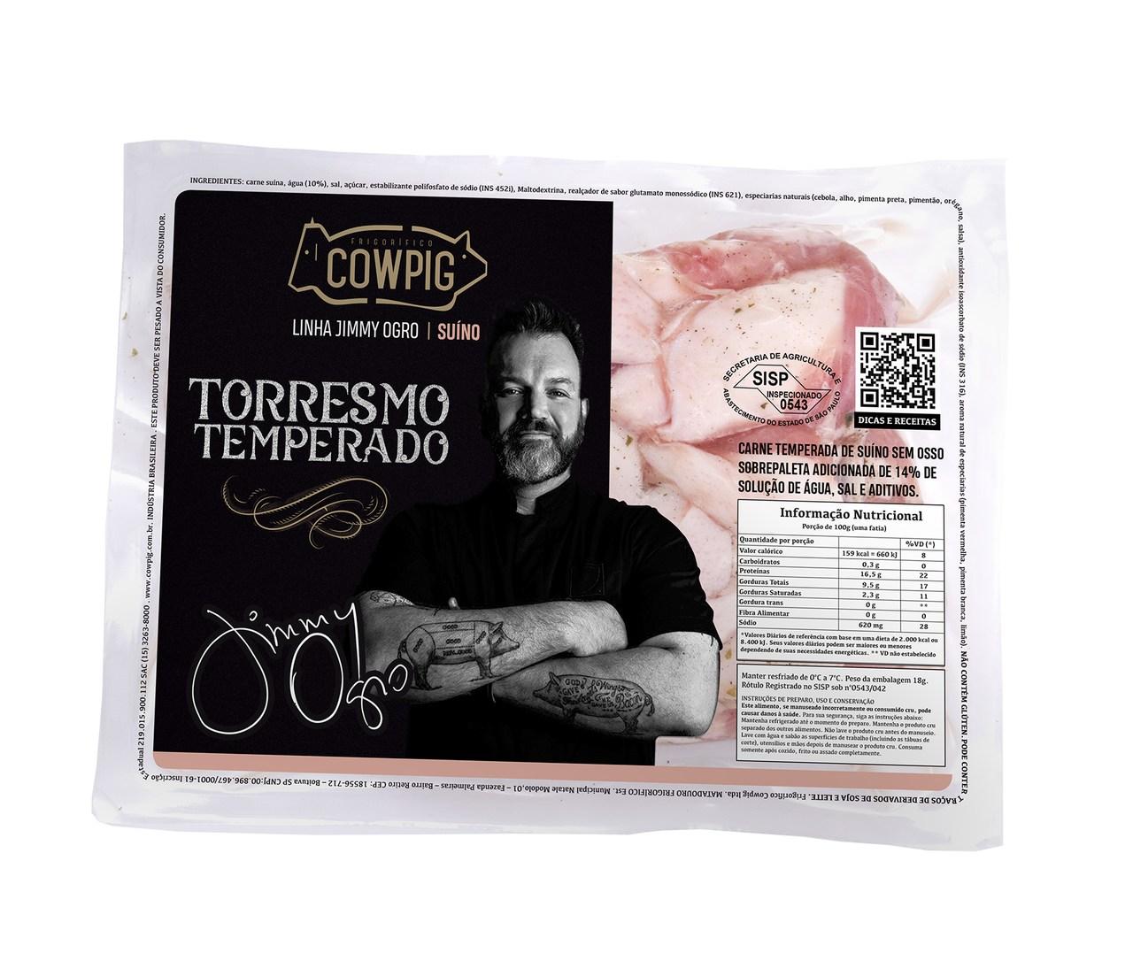 TORRESMO TEMPERADO - PEÇA 700G