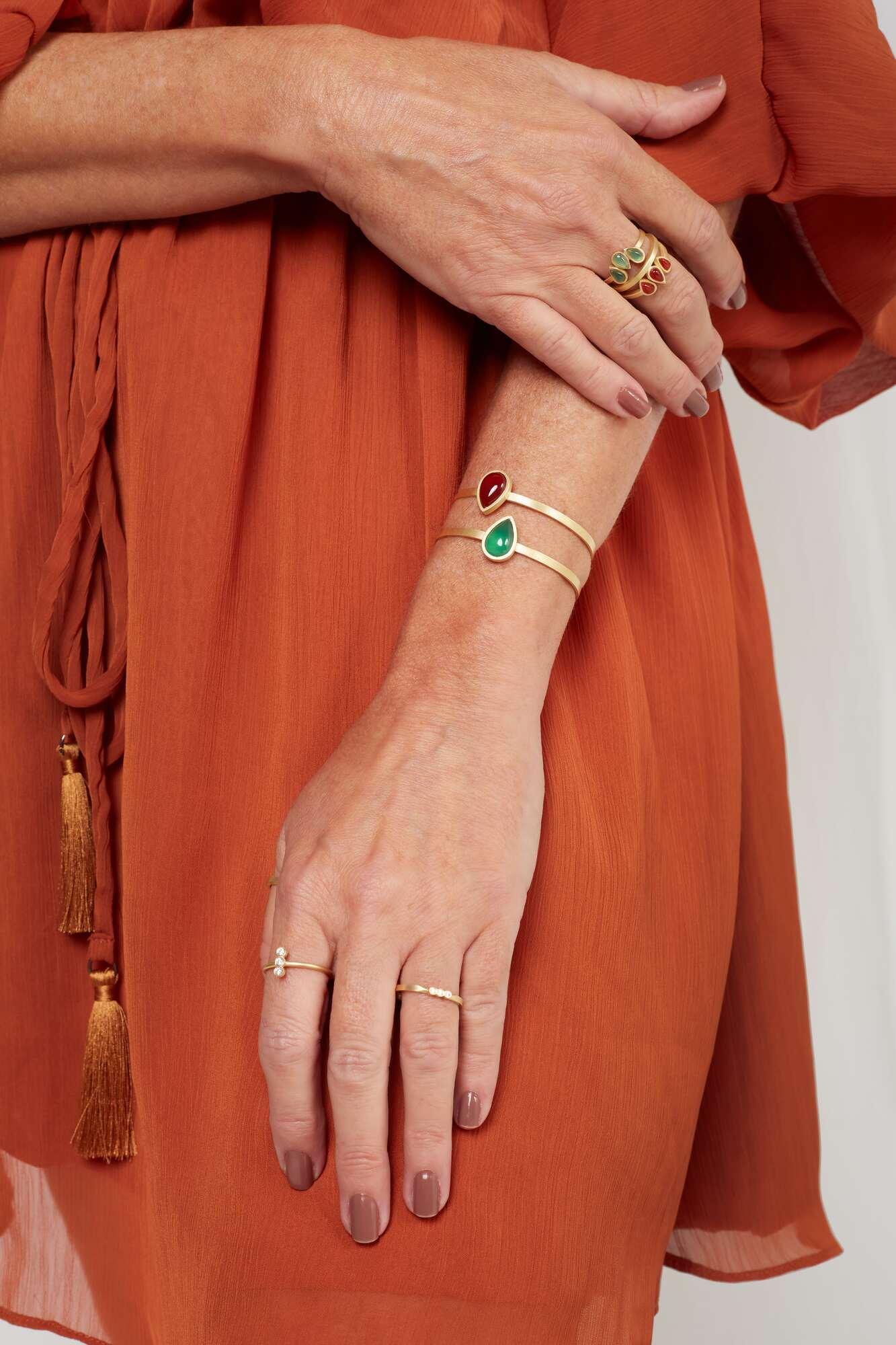 Bracelete Gota Pedra