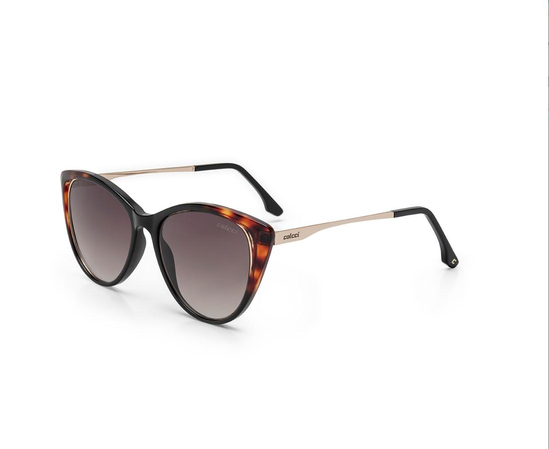 Original COLCCI Óculos de Sol Feminino. Promoção  C0123 AFR34