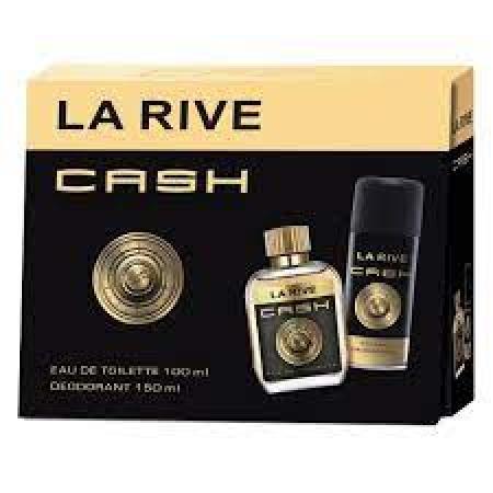 LA RIVE KIT CASH MAN EDT 100ML + DEODORANT 150ML