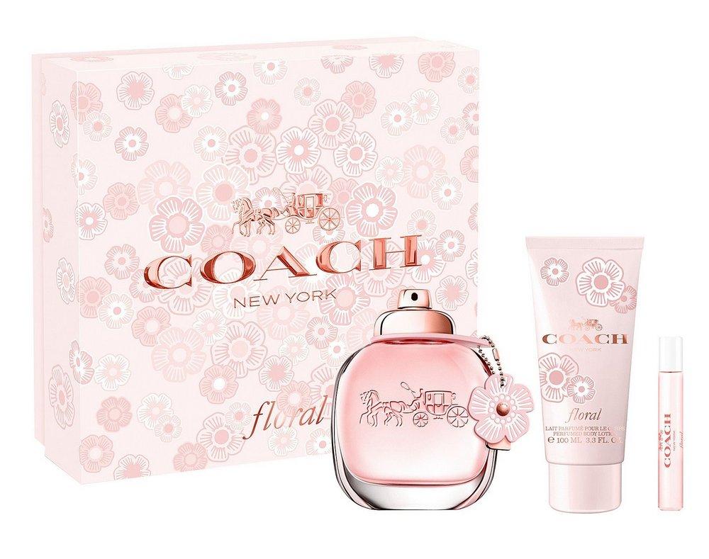 COACH FLORAL Eau de Parfum 90ml+7,5ml+Body lotion