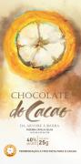 Barra de chocolate 40% ao leite - 25g