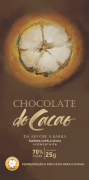Barra de chocolate 70% - 25g