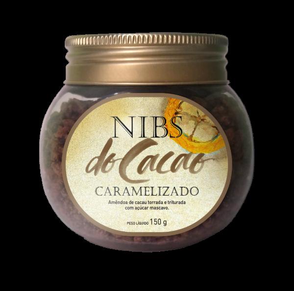 Nibs Caramelizado pote 150g