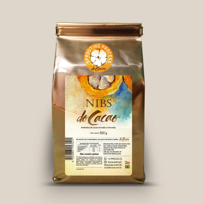Nibs de Cacau Natural 500g