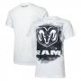 Camiseta Masc. RAM DTG Press - Branca
