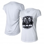 Camiseta Fem. DTG RAM Press -Branca