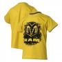 Camiseta Inf. DTG RAM Press - Mostarda