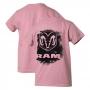 Camiseta Inf. DTG RAM Press - Rosa