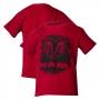 Camiseta Inf. DTG RAM Press - Vermelha