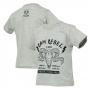 Camiseta Inf. RAM Rebel Skull - Cinza Mescla