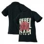 Camiseta Inf. RAM Rebel Trembling - Preta