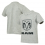 Camiseta Inf. RAM Standard - Cinza Mescla