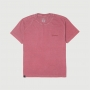 Camiseta Masc. RAM Back Print Lavada Estonada - Vinho