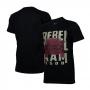 Camiseta Masc. RAM Rebel Trembling - Preta