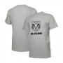 Camiseta Masc. RAM Standard Logo - Cinza Mescla Claro