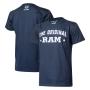 Camiseta Masc. RAM DTG The Original - Azul Marinho