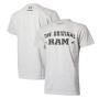 Camiseta Masc. RAM DTG The Original - Cinza Mescla