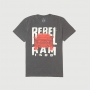 Camiseta RAM Rebel Trembling Lavada Estonada - Preta